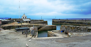 Charlestown harbour Royalty Free Stock Images