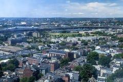 Charlestown Massachusetts. The city of Charlestown Massachusetts Stock Photography