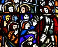 Charleval, Франция - 7-ое сентября 2016: Церковь St Denis Стоковые Фото