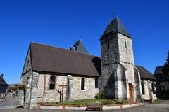 Charleval, Франция - 7-ое сентября 2016: Церковь St Denis Стоковые Изображения