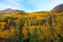 Charlevoix autumn landscape Royalty Free Stock Images