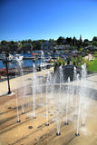 Charlevoix City Marina Stock Photography