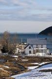 Charlevoix en invierno fotos de archivo libres de regalías