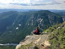 Free Charlevoix, High Gorges Of The Malbaie River, Acropolis Trail Drivers Stock Photography - 124636962