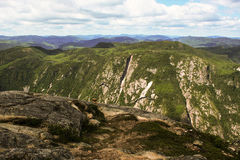 Charlevoix landscape Stock Image