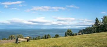 Charlevoix landskap royaltyfri fotografi