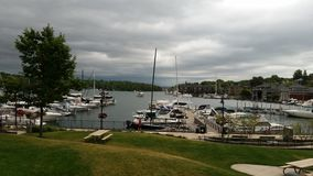 Charlevoix, MI Photo stock