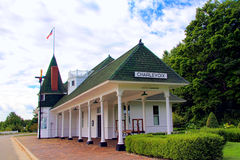 Charlevoix, Michigan Train Depot Museum Royalty Free Stock Image