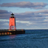 Charlevoix's South Light Royalty Free Stock Photo