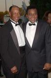 Charley Pride, Ernie Banks foto de archivo