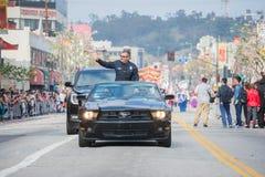 Charlie Beck, capo del dipartimento di polizia di Los Angeles Immagini Stock Libere da Diritti