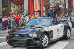 Charlie Beck, capo del dipartimento di polizia di Los Angeles Immagine Stock Libera da Diritti