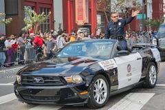 Charlie Beck, Leiter der Los Angeles-Polizeidienststelle Lizenzfreies Stockbild