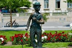 Charlie Chaplin immagine stock libera da diritti