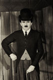Charlie Chaplin Fotografie Stock