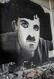 Charlie Chaplin Obraz Royalty Free