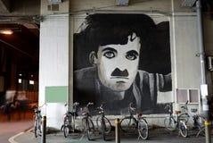 Charlie Chaplin Obrazy Royalty Free