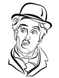 Charlie Chaplin. Stock Photography