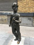 Charlie chaplin posąg Fotografia Stock
