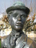 Charlie Chaplin Statue Stock Photos