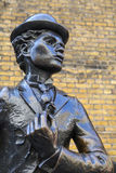 Charlie Chaplin Statue in London Royalty Free Stock Images