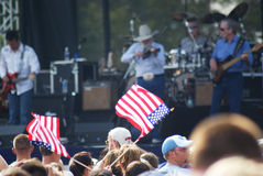 Charlie Daniels Concert Stock Photos