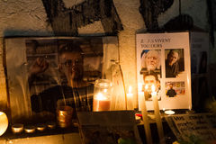 Charlie Hebdo-eenheidsverzameling Royalty-vrije Stock Foto