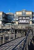 Charlie Hebdo Hamburg Zdjęcie Stock