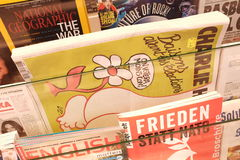 Charlie Hebdo Royalty Free Stock Photography