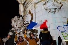 Charlie Hebdo peaceful manifestations Royalty Free Stock Photography