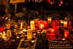 Charlie Hebdo terrorism attack Royalty Free Stock Photography