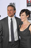 Charlie Hunnam & Maggie Siff Royalty Free Stock Image