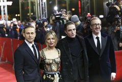 Charlie Hunnam, Sienna Miller, Robert Pattinson, James Gray Stock Photos