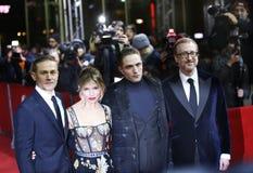 Charlie Hunnam, Sienna Miller, Robert Pattinson, James Gray Royalty Free Stock Photos