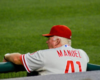 Charlie Manuel Philadelphia Phillies Stock Photo