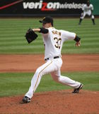 Charlie Morton des pirates de Pittsburgh Photographie stock