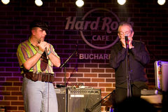 Charlie Musselwhite & Marcian Petrescu Stock Photo
