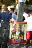 Charlie Rangel Election Poster Royalty-vrije Stock Foto