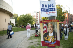 Charlie Rangel Election Poster Stock Photos