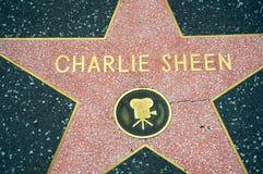Charlie Sheen foto de stock royalty free