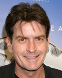 charlie sheen Royaltyfria Bilder