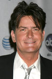 Charlie Sheen. In the Press Room at the ALMA Awards in Pasadena, CA on August 17, 2008 Royalty Free Stock Photo