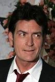 Charlie Sheen imagem de stock