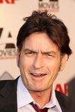 Charlie Sheen. At the AARP Movies For Grownups Premiere of The Way, Nokia Theater, Los Angeles, CA 09-23-11 Royalty Free Stock Images