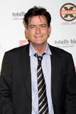Charlie Sheen arrives at the FX Summer Comedies Party Royalty Free Stock Photo