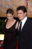 Charlie Sheen,Denise Richards Royalty Free Stock Photography