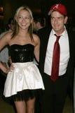 Charlie Sheen, Natalie Kenly imagem de stock royalty free
