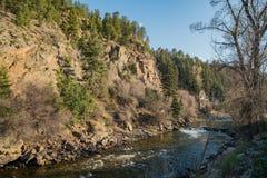 Charlie Tayler Water Wheel an Idaho-Frühlingen lizenzfreie stockbilder