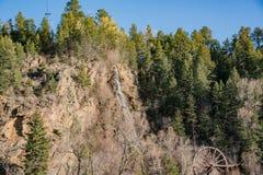 Charlie Tayler Water Wheel an Idaho-Frühlingen lizenzfreies stockfoto