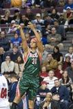 Charlie Villanueva der Milwaukee-Dollars Lizenzfreie Stockfotografie